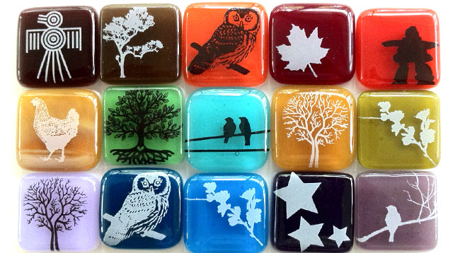 Glass Fusing Decals